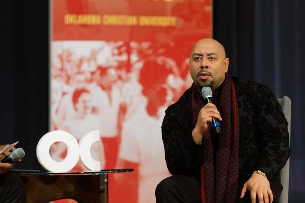 'Never give up': Raymond Santana of 'Central Park Five' shares his story at OC