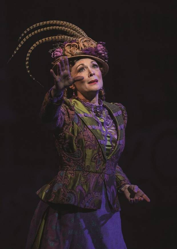 "Dee Hoty stars in Lyric Theatre's production of ""Hello, Dolly!"" [Photo by KO Rinearson]"