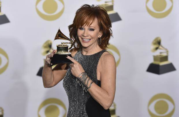 Reba McEntire Walks GRAMMYs Red Carpet With New Man Skeeter Lasuzzo