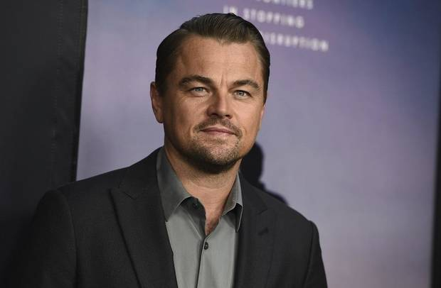 "Leonardo DiCaprio attends the Los Angeles premiere of ""Ice on Fire"" on Wednesday, June 5, 2019 at the Los Angeles County Museum of Art. [Photo by Jordan Strauss/Invision/AP="