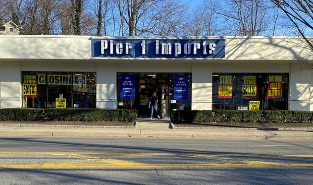 Coronavirus store closings: Pier 1 Imports to shutter all stores nationwide in bankruptcy