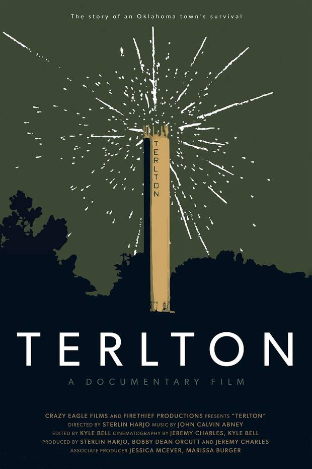 "Oklahoma filmmaker Sterlin Harjo's short documentary ""Terlton"" chronicles the 1985 accident at a local fireworks factory that killed one-fourth of the community's population. [Poster provided]"