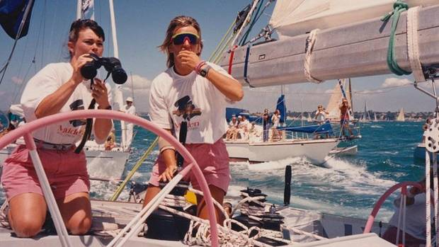 "The documentary ""Maiden"" chronicles the journey in 1989 of the first all-female crew to enter the Whitbread Round the World Race. [Sony Pictures Classics photo]"
