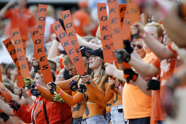 Oklahoma State's on upset alert at halftime against TCU