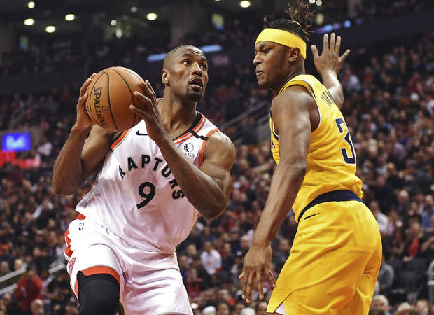 Raptors roll to biggest win of season, beat Pacers 127-81
