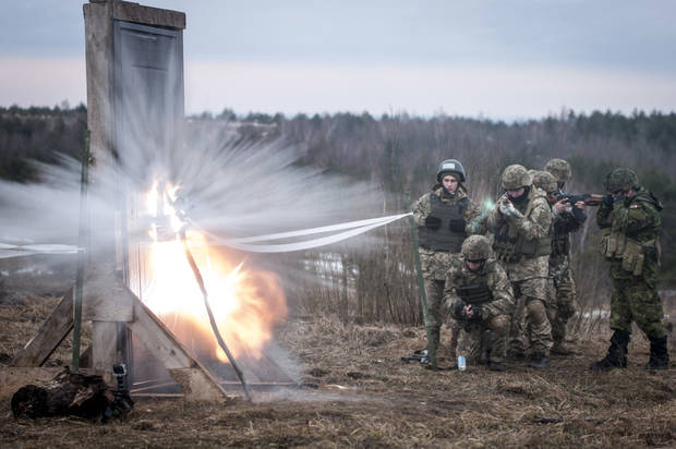 Oklahoma National Guard troops train Ukrainians for battle