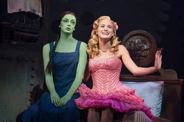 "Allison Bailey & Talia Suskauer star in the North American Tour of ""Wicked."" [Photo by Joan Marcus]"