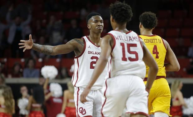 OU men's basketball: Kristian Doolittle named Big 12 Player of Week