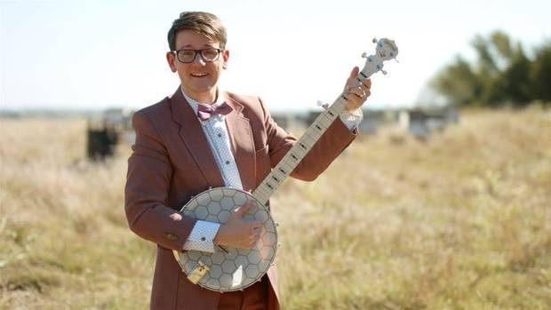 "Local TV personality, musician and actor Lucas Ross, who handles community outreach and promotion for the Oklahoma City-based American Banjo Museum, will perform a special preshow at select dates of Lyric Theatre's production of ""Bright Star."" [Photo provided]"