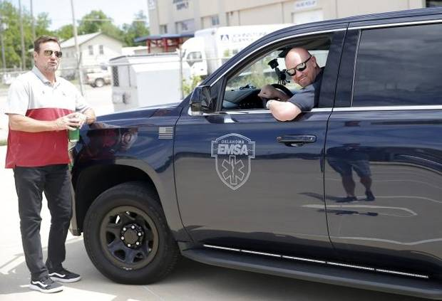 Coronavirus in Oklahoma: Frontline workers thanked with free tacos, cameo from Bob Stoops