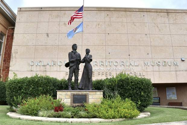 The Oklahoma Territorial Museum showcases artifacts and stories about Oklahoma and the city of Guthrie. [The Oklahoman Archives]