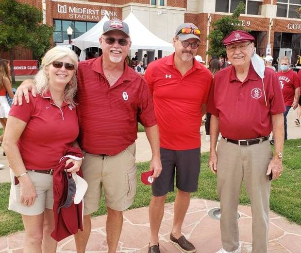 Carlson: How an OU football fan with a couple extra seats made a special day for couple denied season tickets