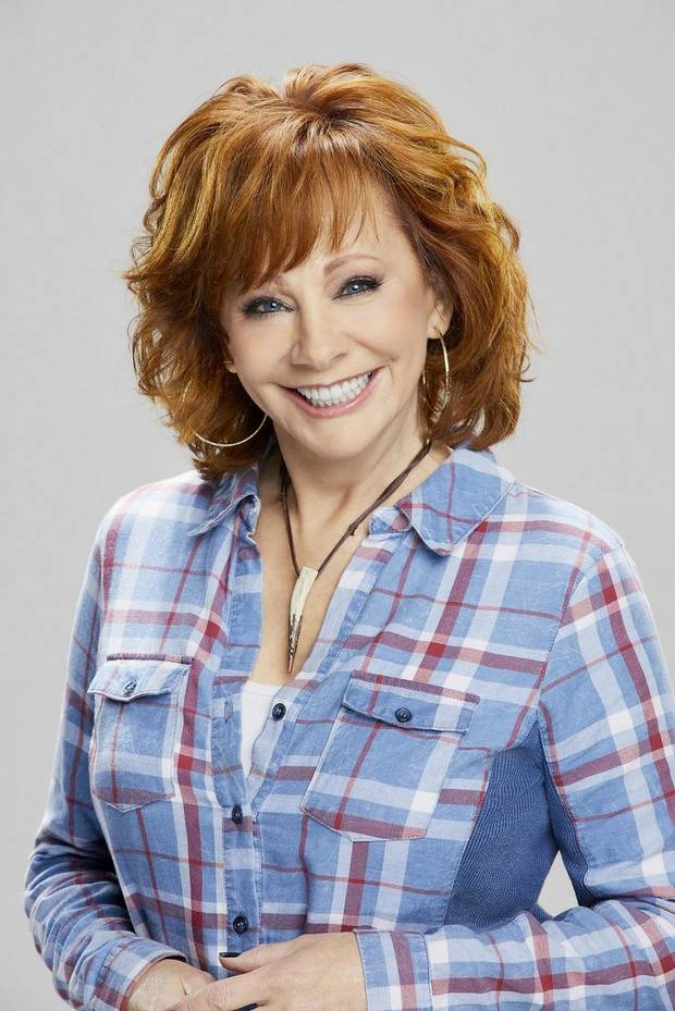 Reba McEntire will host of the 54th Academy of Country Music Awards, to broadcast live from the MGM Grand Garden Arena in Las Vegas Sunday on the CBS Television Network. [Photo Cliff Lipson/CBS]