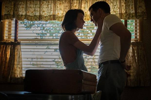 "Carey Mulligan, left, and Jake Gyllenhaal appear in a scene from ""Wildlife."" [IFC Films photo]"