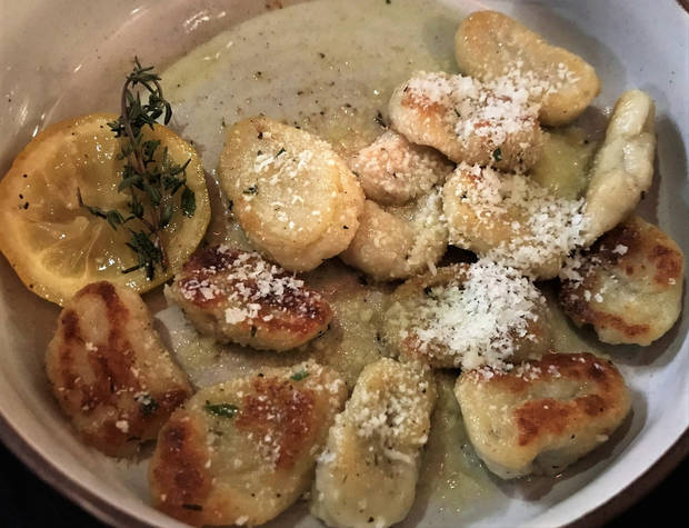Roasted Gnocchi from Piatto Italian Kitchen. [Dave Cathey/The Oklahoman]