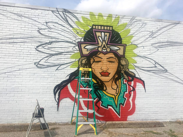 New mural in Capitol Hill captures dreams of youth, culture | The Oklahoman