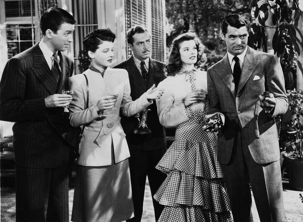 "A scene from ""The Philadelphia Story."""