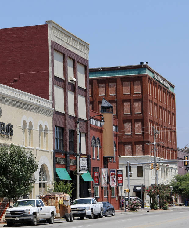 One neglected Bricktown building getting a face-lift