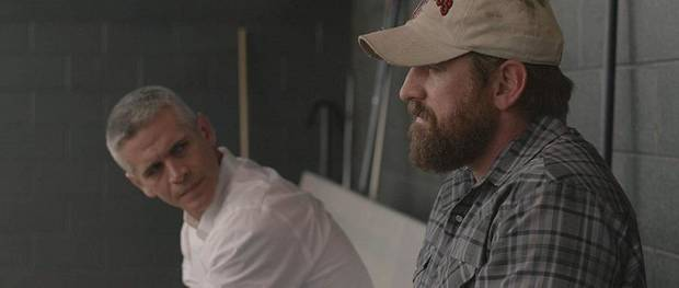 "Thom Hallum, left, and Adam Hampton star in ""90 Feet From Home."" [B22 Films]"