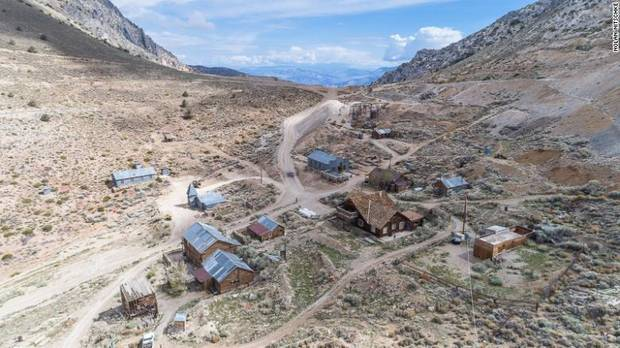 Ghost town in California for sale