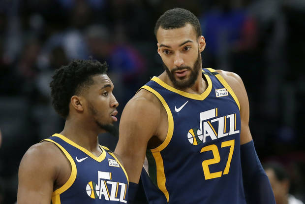 The Latest: Jazz's Gobert gives $500,000 to health services