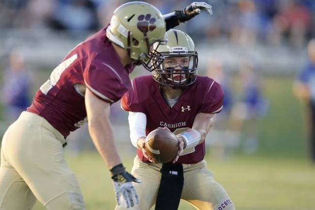 High school football: Cashion QB Ben Harman finds his groove in the playoffs