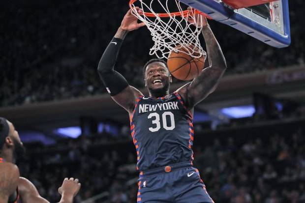 NBA ROUNDUP: Randle scores 26 points in return to Knicks; Irving scores 21 in return to Nets