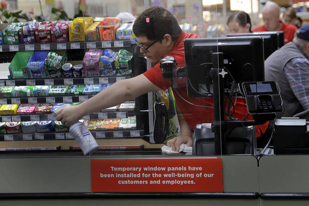 Grocery workers are key during the virus. And they're afraid