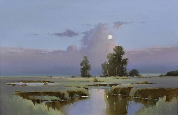 The plein-air paintings of nationally recognized artist Rick McClure will be on view Thursday through Oct. 25 at The Howell Gallery of Fine Art, 6432 N Western Ave. Image provided