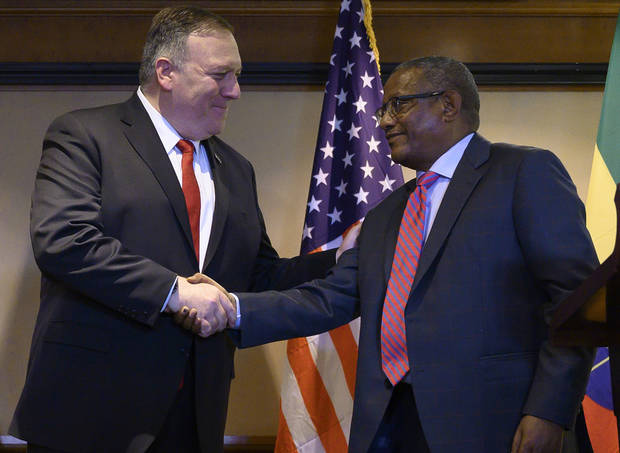Ethiopia won't be forced by US on dam, foreign minister says