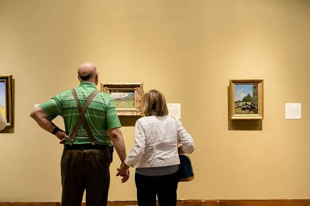 Oklahoma City Museum of Art experiencing blockbuster summer with 'Van Gogh, Monet, Degas'...