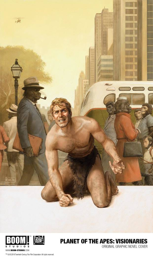 Planet of the Apes: Visionaries promotional art