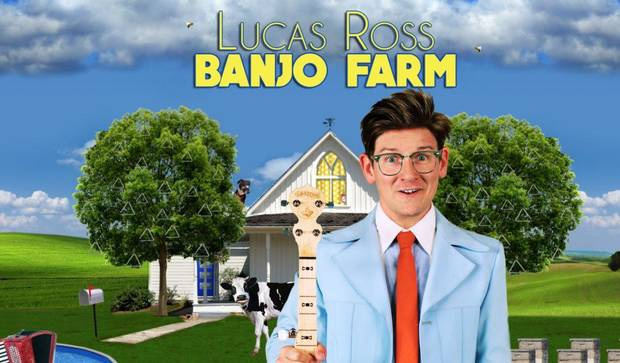 Video: Lucas Ross releases new CD 'Banjo Farm,' embarks on Oklahoma