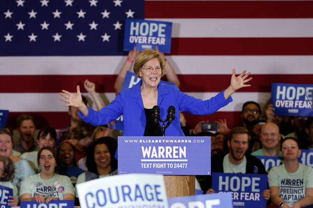 The Latest: Warren campaign manager calls Iowa delays a mess