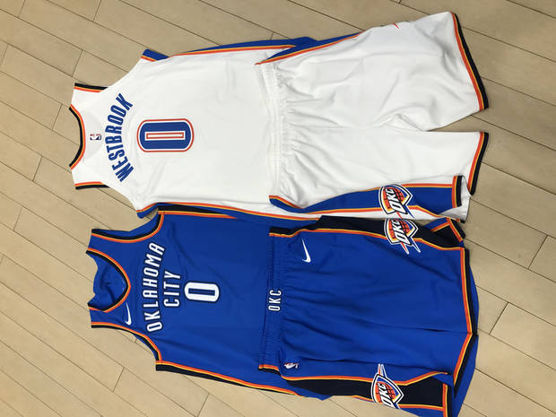 b9d613c7e The Thunder s first Nike uniforms are here... and they re familiar
