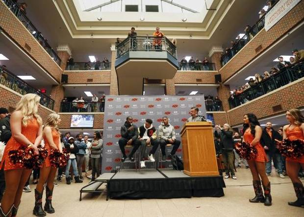 OSU football: Mike Gundy's Cowboy culture provides environment where NFL-ready players want to stay