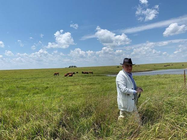 "Martin Scorsese is seen location scouting in Oklahoma for his upcoming film, ""Killers of the Flower Moon."" [Photo provided by producer Emma Tillinger Koskoff]"