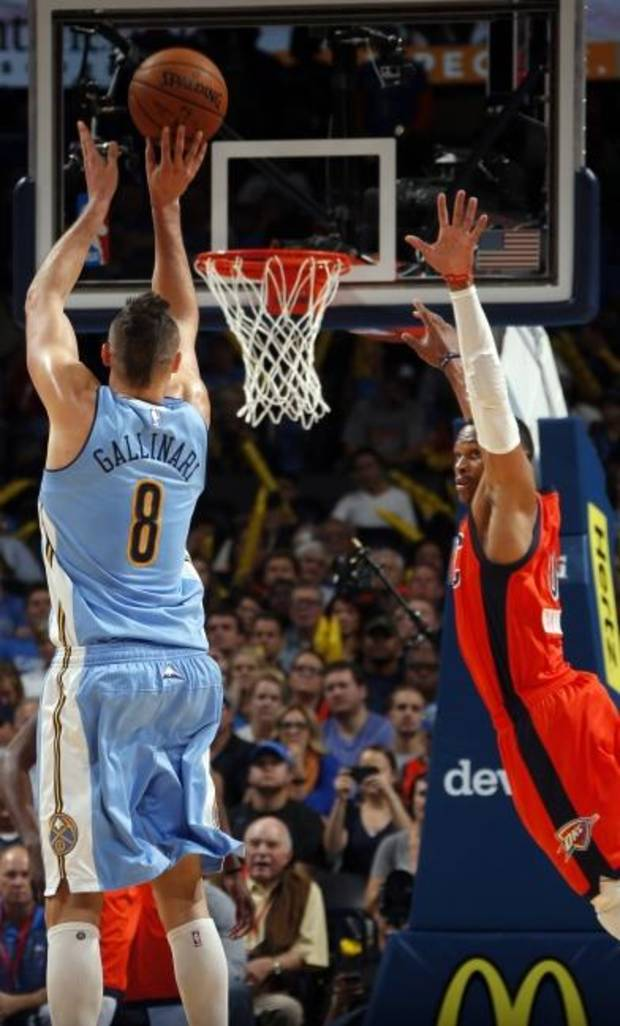 Gift of the Magi: Thunder can make 3-pointers, but what difference does it make?