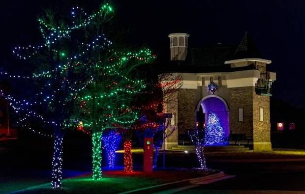 Oklahoma City developer P.B. Odom III's trees are gifts that keep on living the whole year round