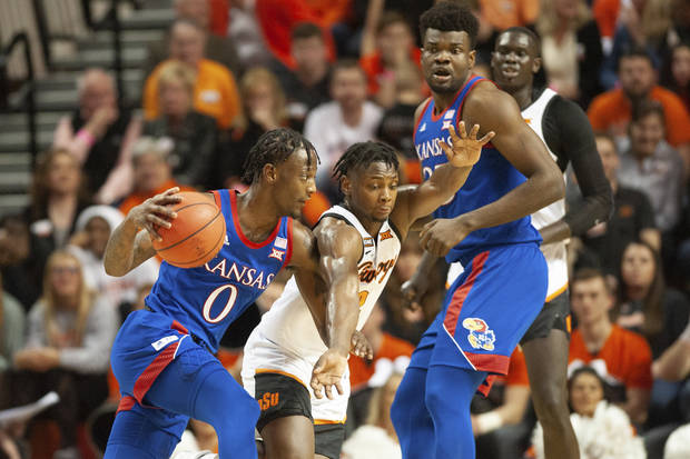 OSU basketball: No. 3 Kansas dominates Cowboys