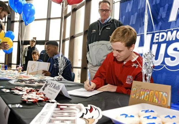 Oklahoma high school sports: 2019 college signing list