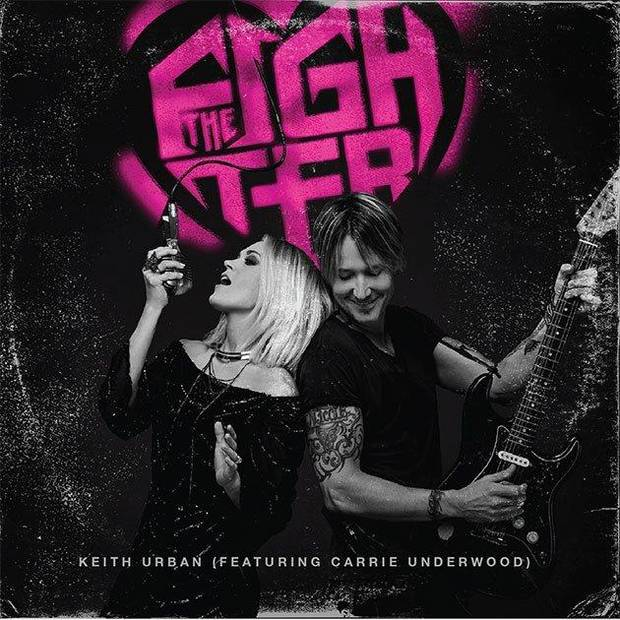 """The Fighter"" duet partners Carrie Underwood and Keith Urban will perform together on the June 7 CMT Music Awards. Cover art provided"