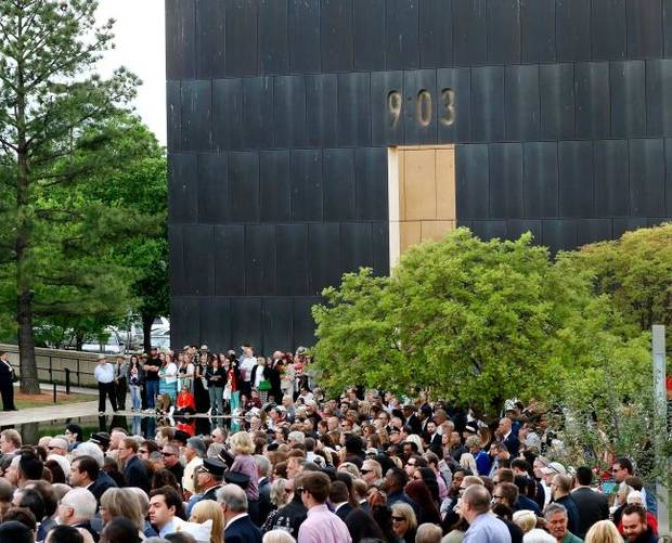 Kirkpatrick Family Foundation announces $500,000 grant with Oklahoma City National Memorial Foundation
