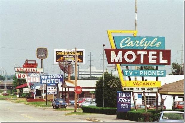 Tracing the path of Route 66 through Oklahoma City on