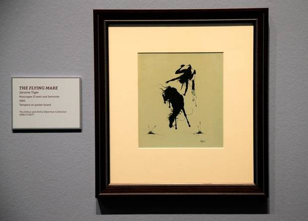 Great  The Flying Mare by Jerome Tiger is part of the exhibit Life and