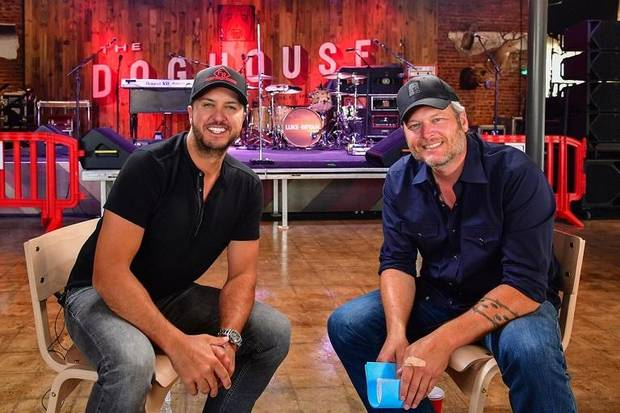 Video: See behind the scenes as Blake Shelton and Luke Bryan open