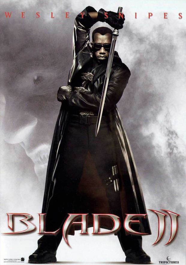 "Wesley Snipes starred in ""Blade II,"" one of the films in the 2000-2017 Movie Game. (New Line Cinema)"