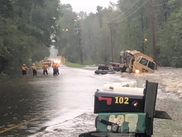 Rescuers from Oklahoma continue to help people Monday in North Carolina flooding | The Oklahoman