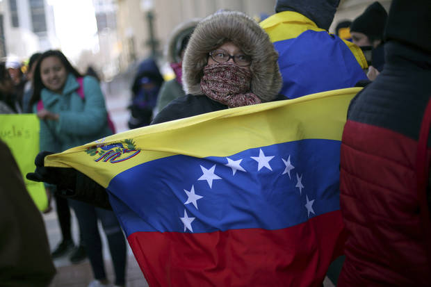 The Latest: Maduro gives US diplomats 72 hours to leave