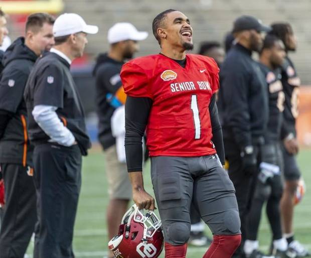 OU football: Jalen Hurts 'soaking it up' back in Alabama for Senior Bowl